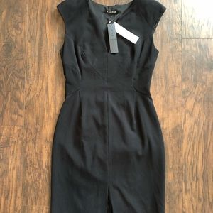 Black Halo Size 10 Dress with exposed lower back